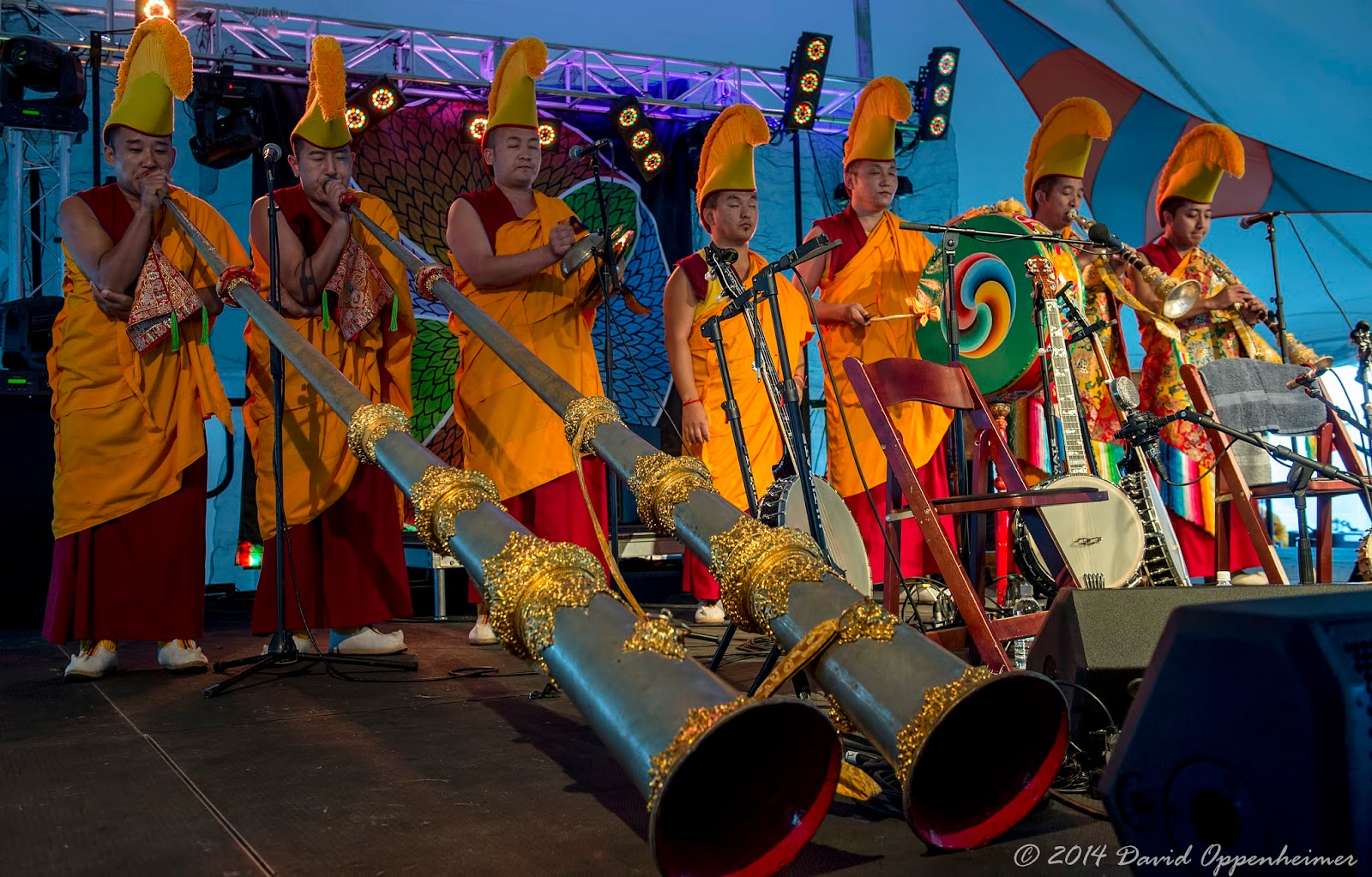 The Mystical Arts of Tibet Performing at LEAF Festival