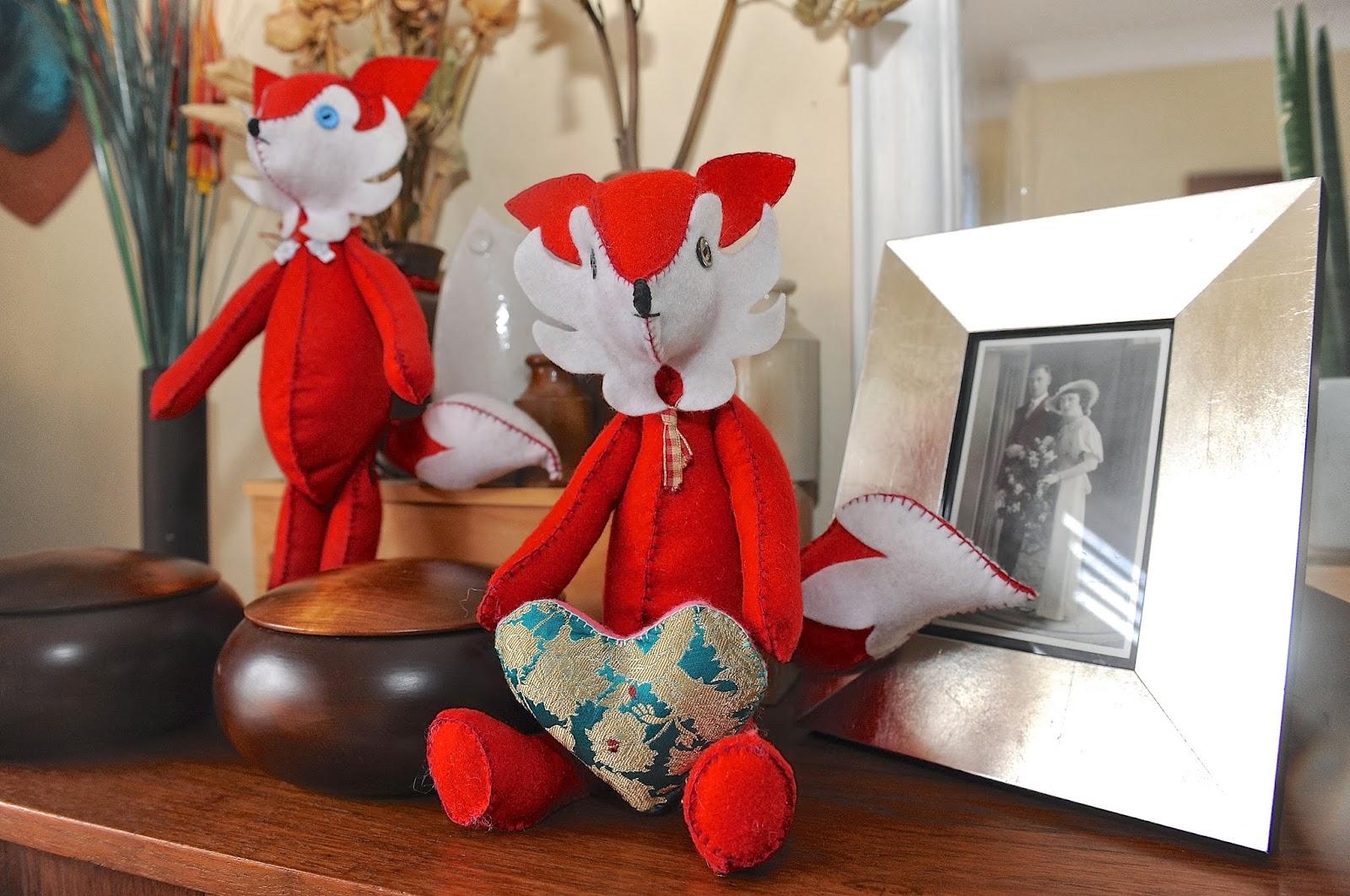 felt fox softie