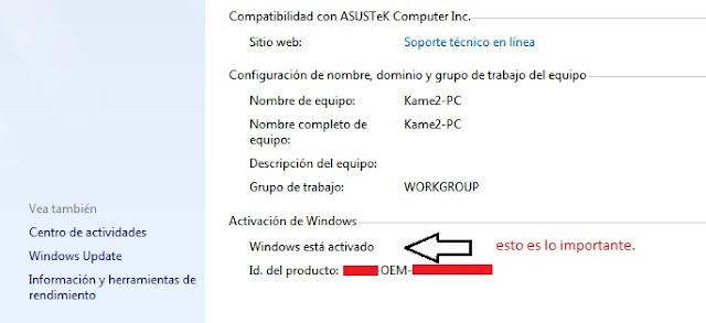 Como solucionar Windows 7 cuando es detectado como Pirata