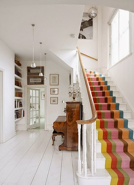 carpeting stairs