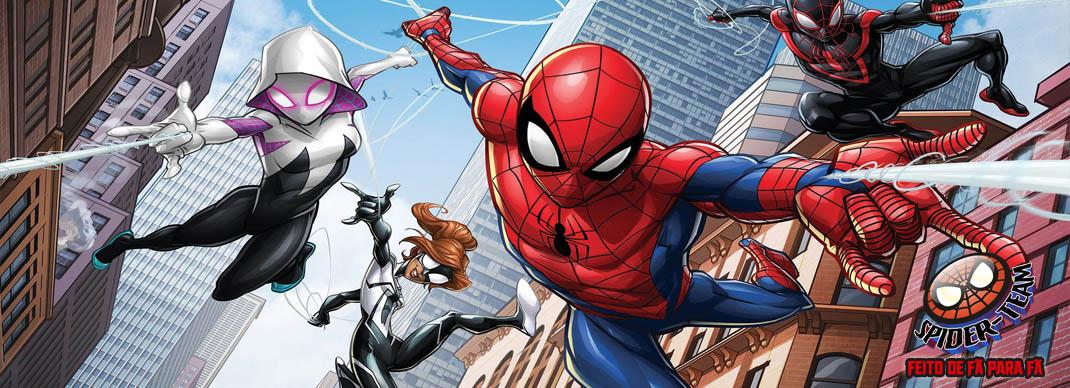 Spider-Team | Aranhaverso | Feito de Fã para Fã