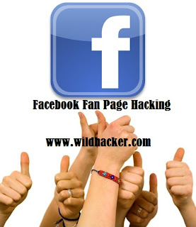 Hack Facebook Fan Admin Page