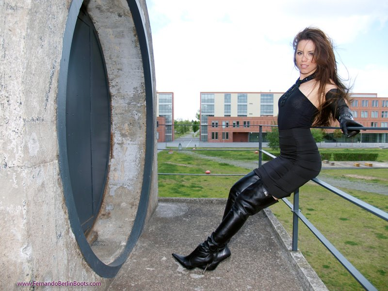 Original CrotchBoots And Leather Gloves  Flickr  Photo Sharing