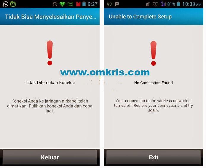 Cara Atasi Tidak Ada Koneksi Saat Install BBM Android