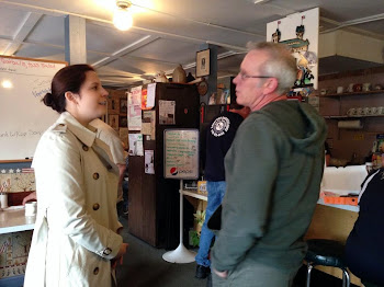 Stefanik Stumps in Small Business Visits in Glens Falls Area