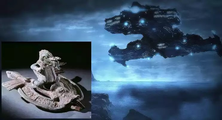 Ιπτάμενα οχήματα στα έργα του Αισχύλου!