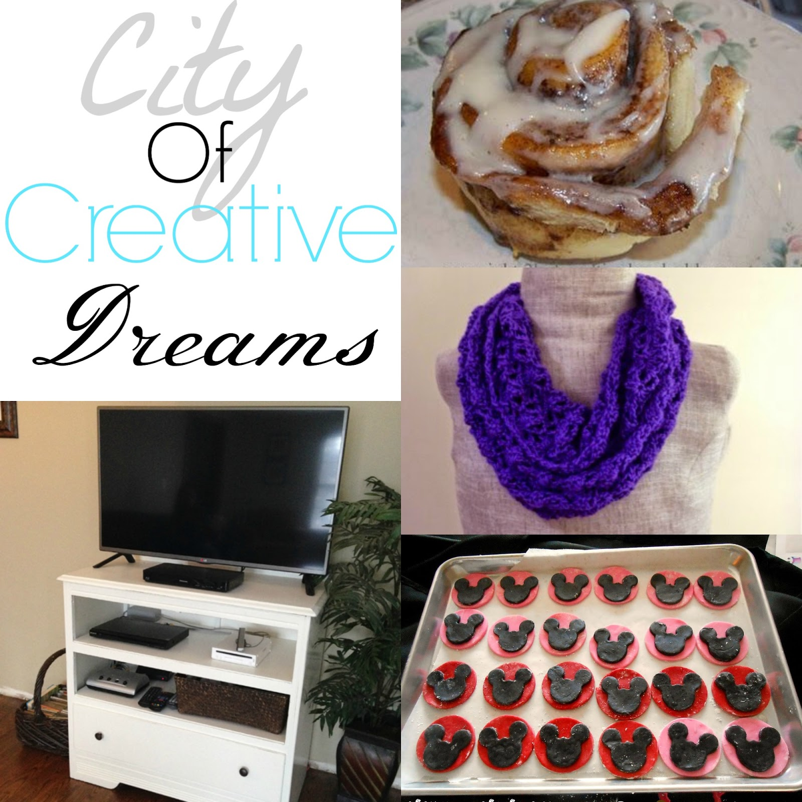 city of creative dreams - link party