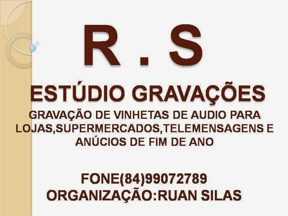 R.S. ESTÚDIO GRAVAÇÕES