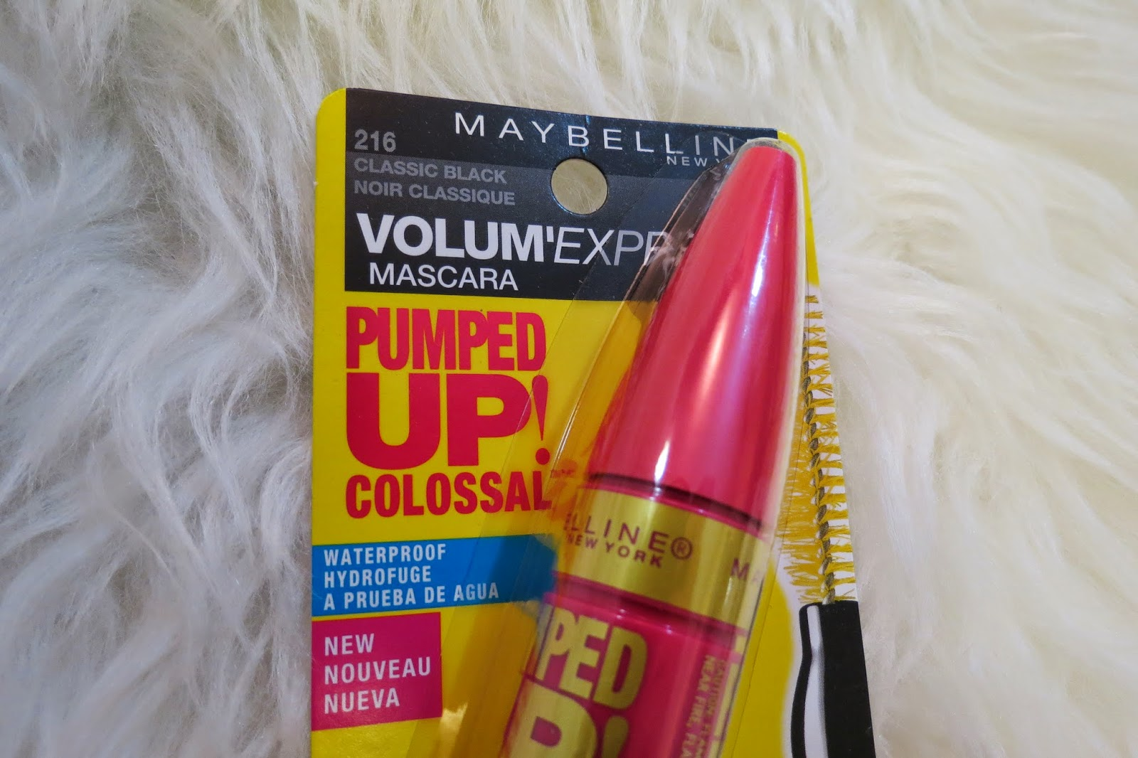 Colossal Mascara Packaging?