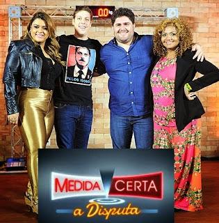 Medida Certa - A disputa com Fábio Porchat, Preta Gil, Gabi Amarantos , César Menotti e Gaby Amarantos.
