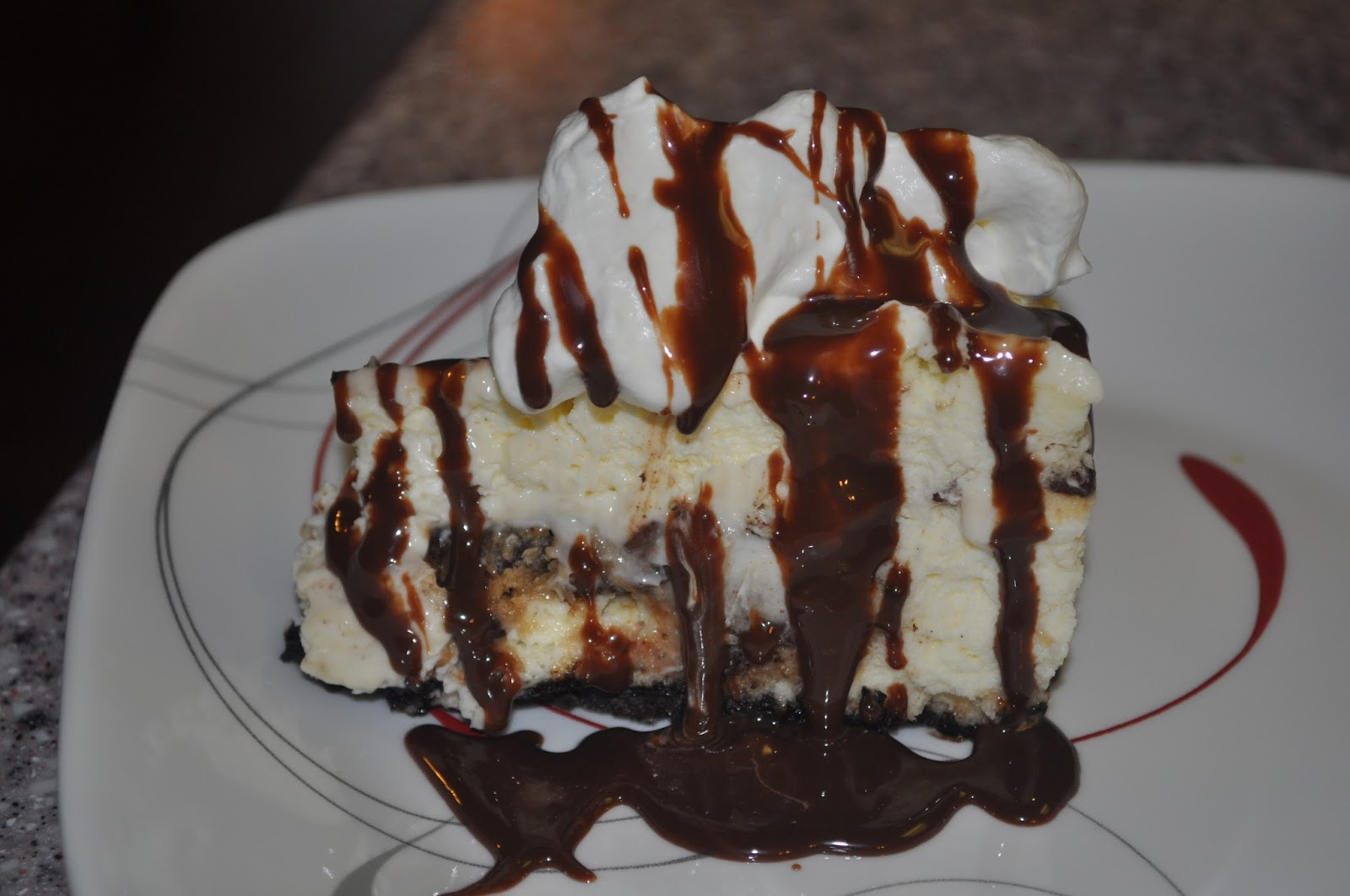 Beth S Favorite Recipes Olive Garden Chocolate Chip Cookie Dough Cheesecake