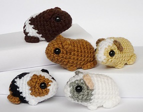 Free Amigurumi Patterns: Newborn Baby Guinea Pigs