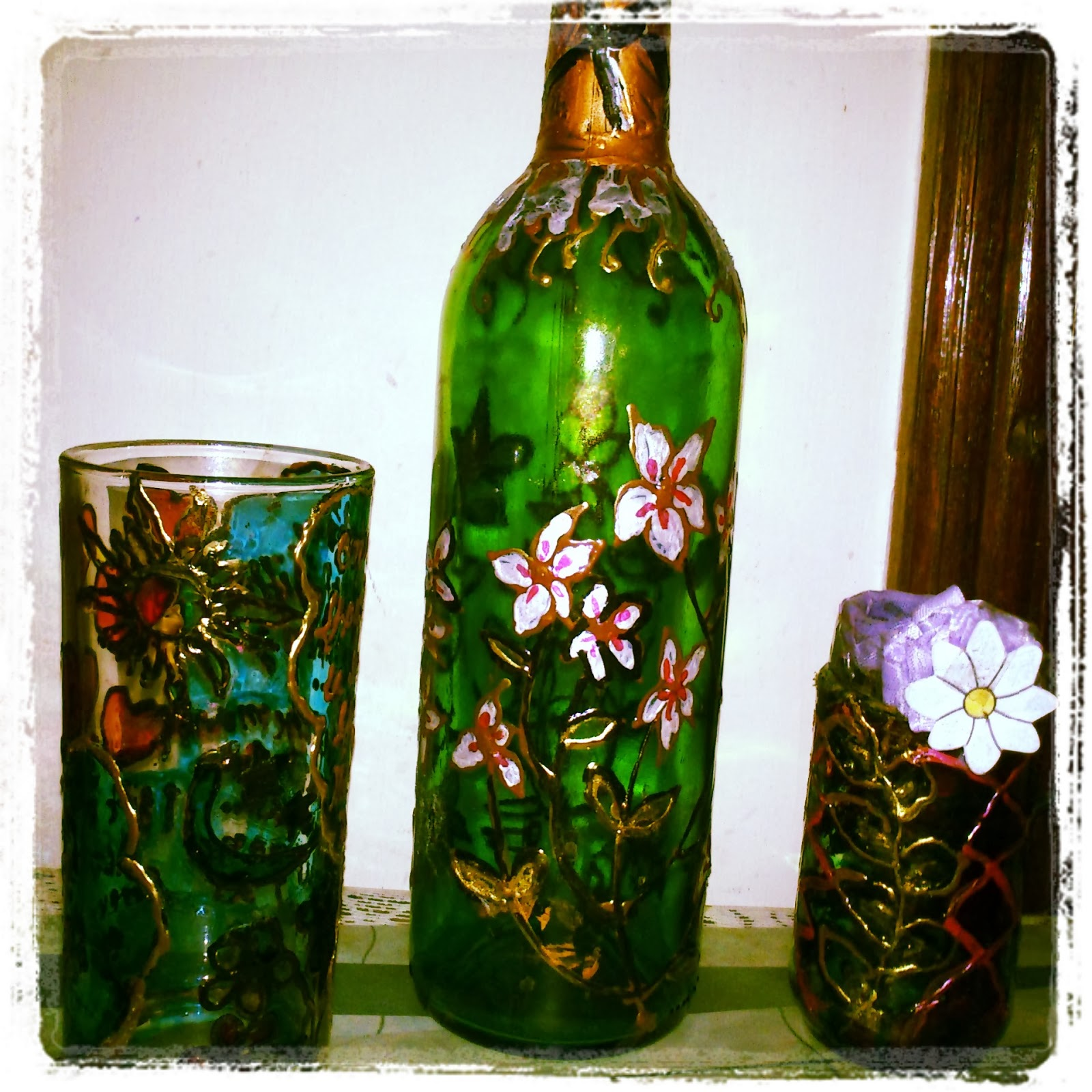 best out of waste my tryst with art flower vases from old