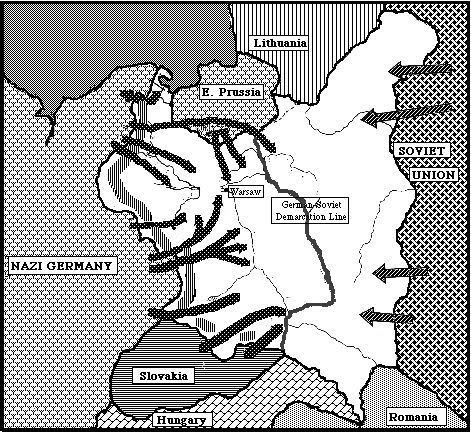the result of the german blitzkrieg on poland Buy blitzkrieg unleashed: the german invasion of poland 1939 1st edition by richard hargreaves (isbn: 9781844157778) from.