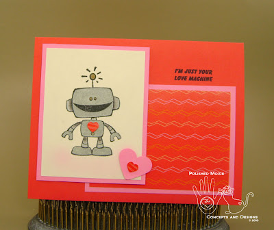 Picture of front of second robot card