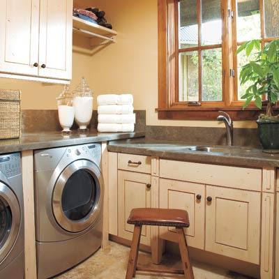 Frantz Featherings Inspired Laundry Room