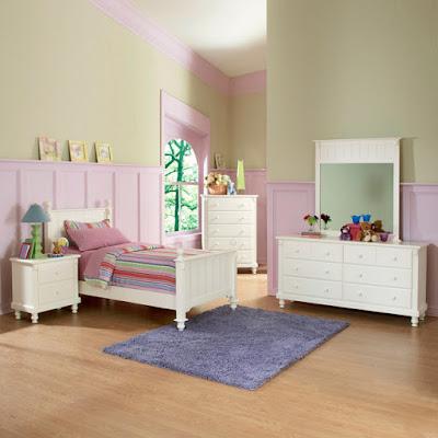 kamar set minimalis untuk anak perempuan