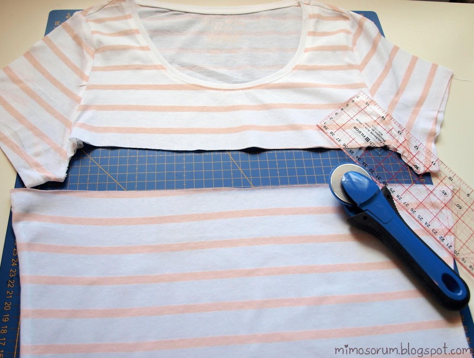 Make a dress with a Shirt. Mimosorum