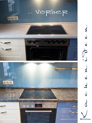 Küchenarbeitsplatte vorher - nachher ... was ein Unterschied!