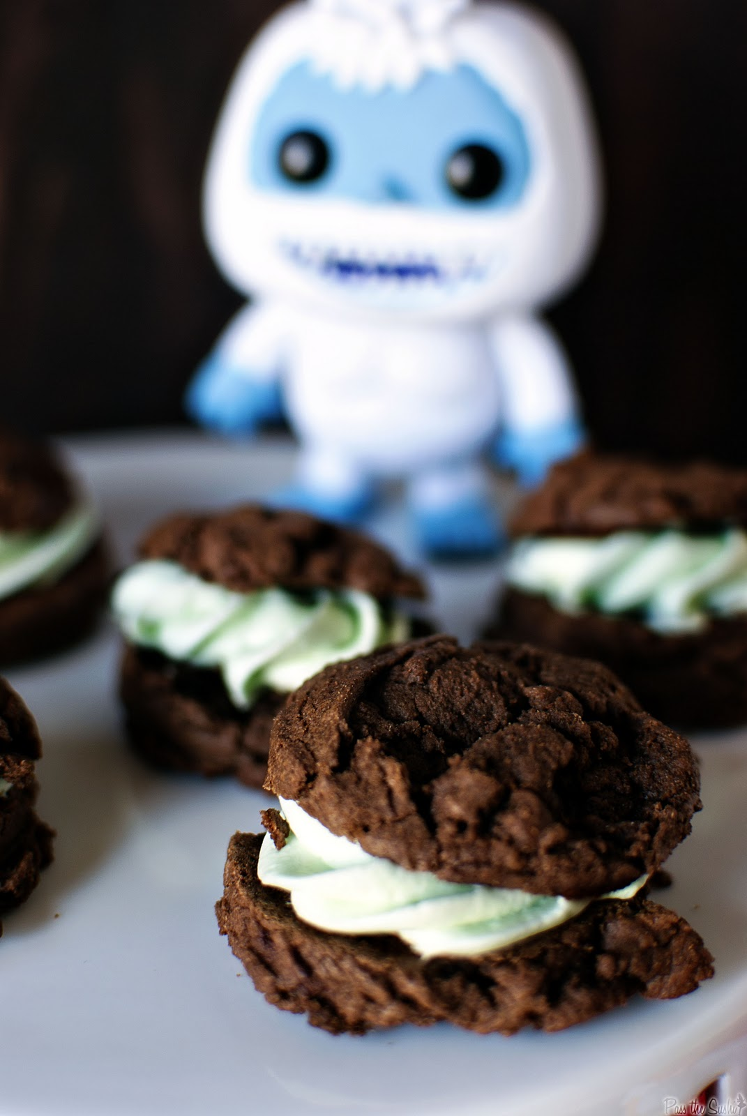 Grasshopper Pie Cookies Recipe