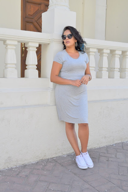 White Converse Outfit