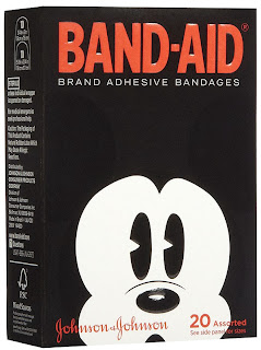 mickey mouse adhesive bandages band aid
