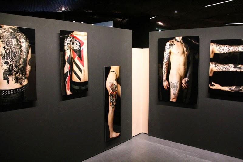Expo Tatoueurs Tatoués au Musée du Quai Branly