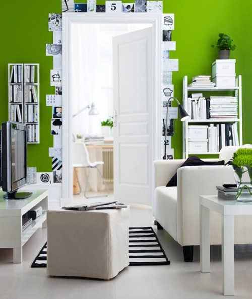 Very Best Black White and Green Living Room 500 x 593 · 60 kB · jpeg
