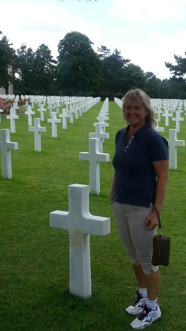 Den amerikanske kirkegården i Normandie