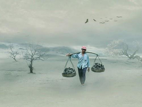 ilustrasi kuli batu (fotoblur.com)