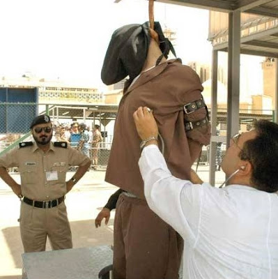 It's just like the old West: crowds, gallows, and the spectacle of it ...: http://teacherinkuwait.blogspot.com/2012/02/on-crime-and-punishment-warning-graphic.html