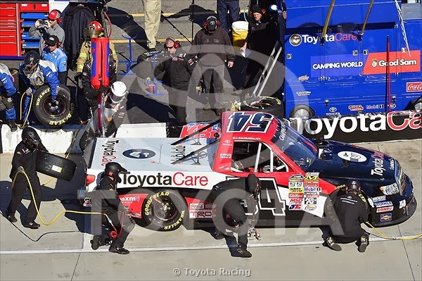Toyota NCWTS Top Ten Driver Finishing Positions Martinsville Speedway