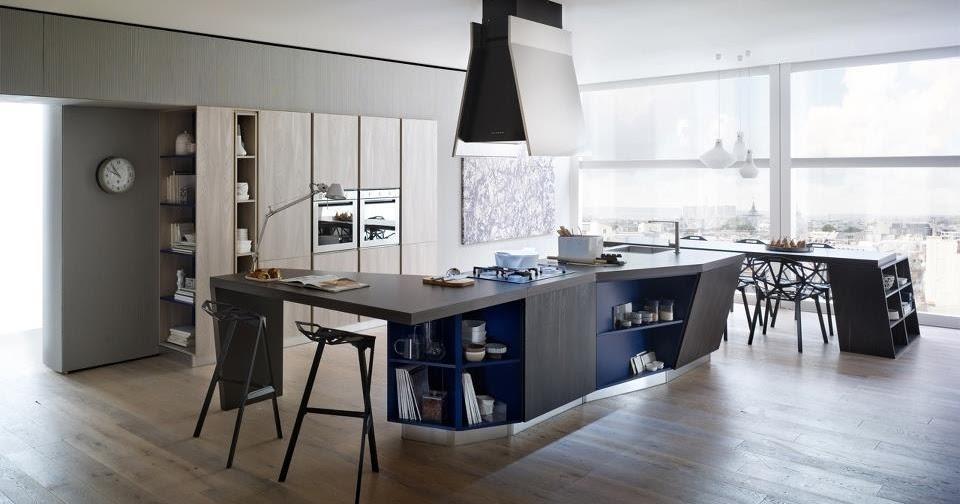 cuisine moderne bois. Black Bedroom Furniture Sets. Home Design Ideas