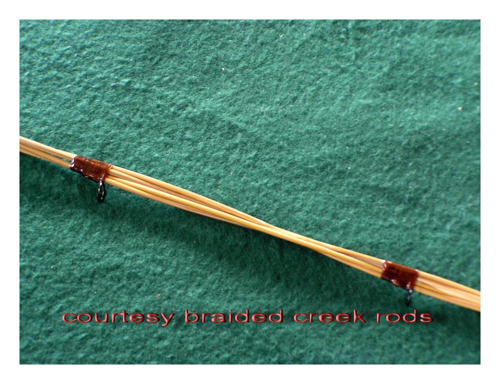 Chuck robbins outdoors fly fishing short bamboo rod for Bamboo fly fishing rod