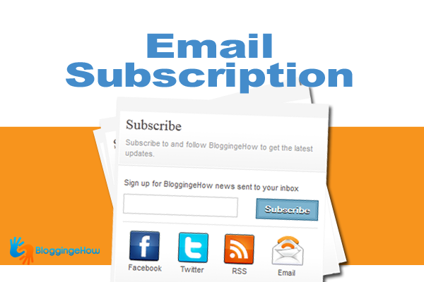 Premium Email Subscription (social integration)