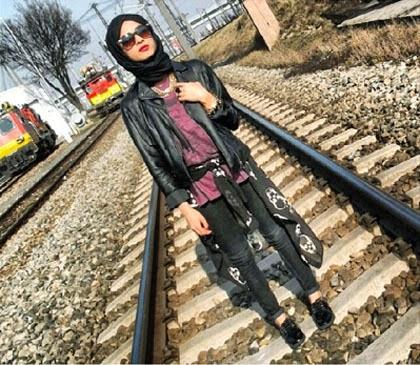 Model Streetstyle Hijabers ala Wanita Iraq Terbaru 2014