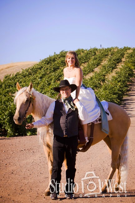 Chapel Hill Wedding Photography - Cowboy Wedding Photographer - Shandon, CA - Studio 101 West Photography