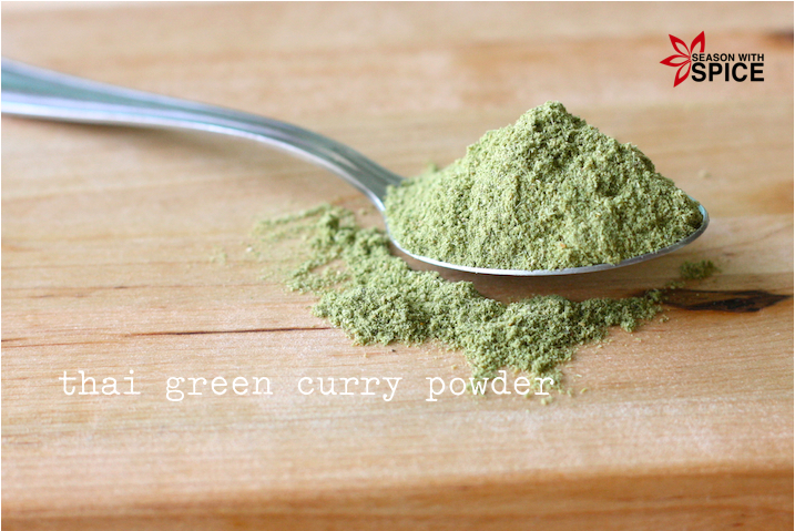 Thai Green Curry Powder available at SeasonWithSpice.com