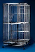 Heavy Duty 4 level cat cage C2335