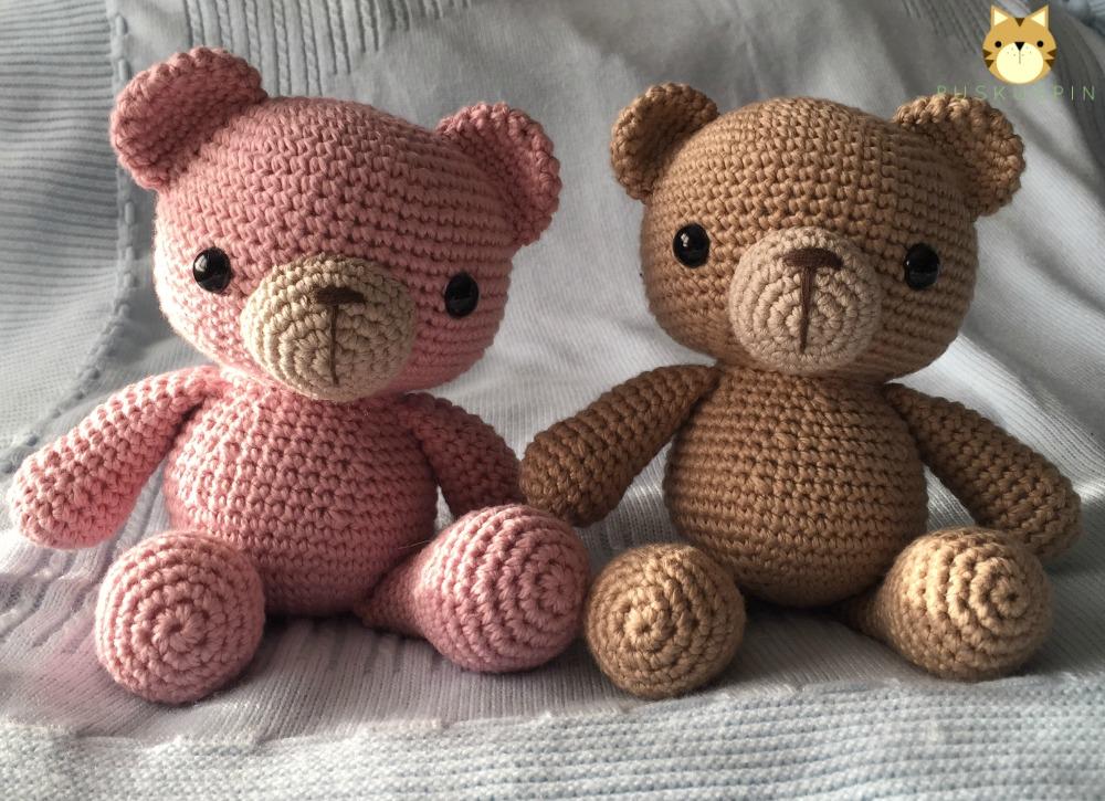 Amigurumi Bear Maya : Puskuspin: Amigurumi Ositos - Amigurumi Bears
