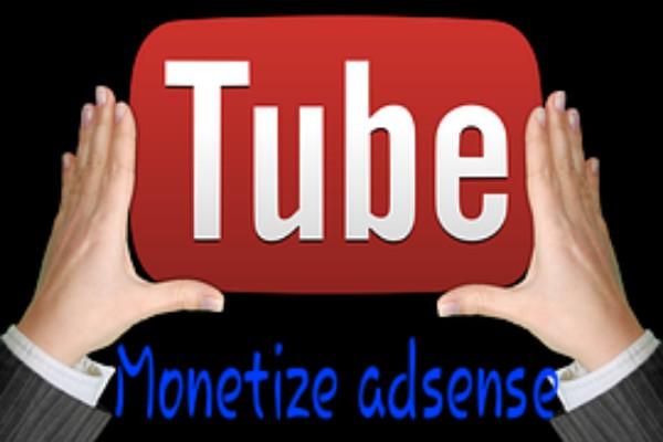 youtibe monetize adsense