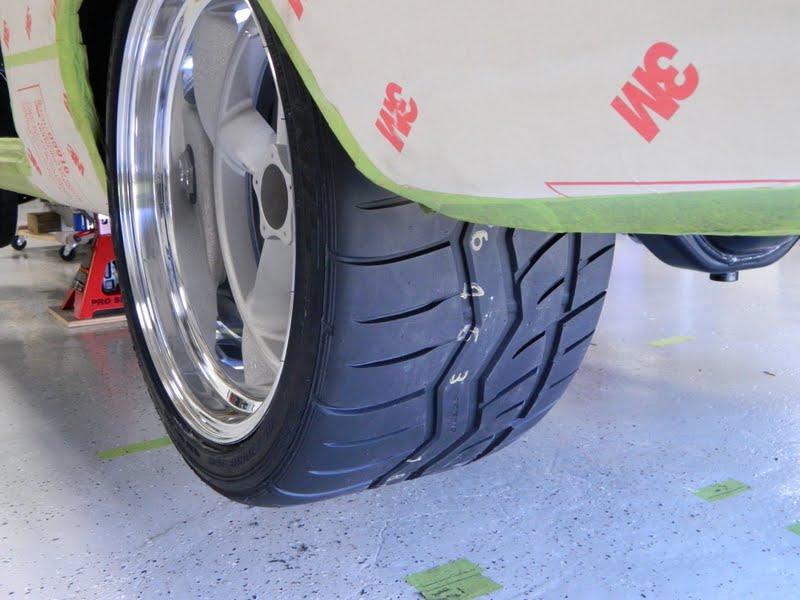 67 Nova Project Mock Up Wheels Amp Tires July 21 2012
