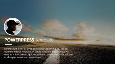 powerpress presentation template