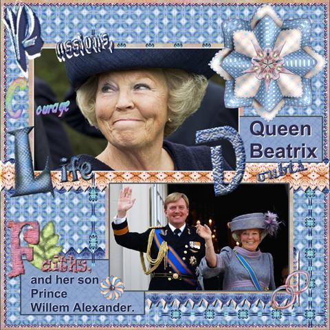 Queen Beatrix..
