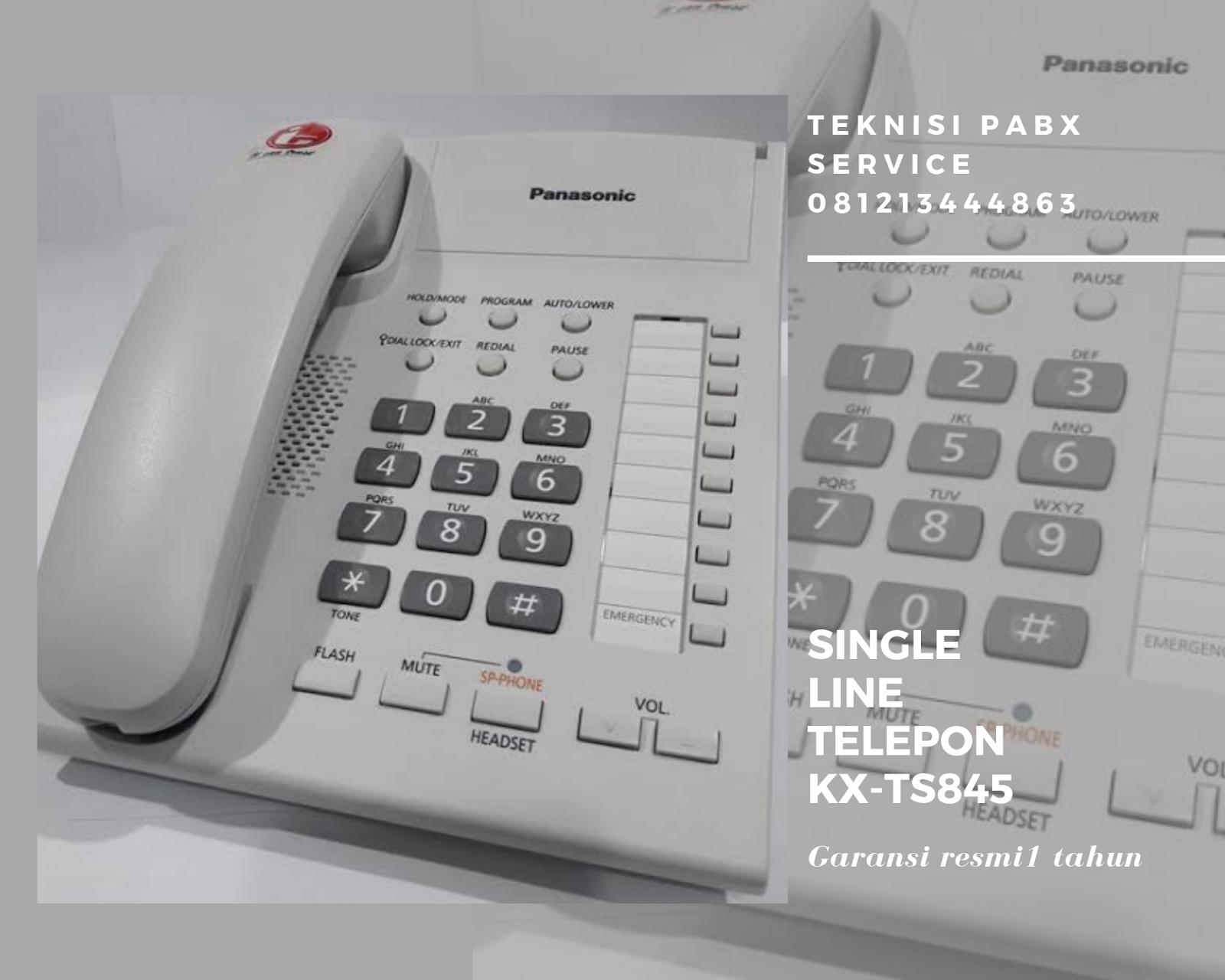 Single Line Telepon PABX TS845