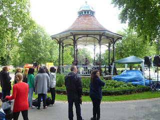Bandstand in Myatts Fields Park SE5 on vassallview.com