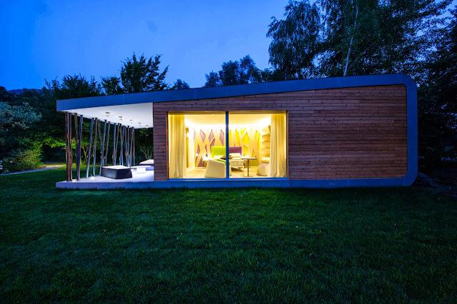 contemporary green zero home