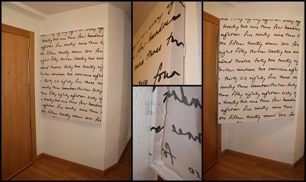La neurona del manitas el recibidor for Como colgar un espejo sin marco en la pared