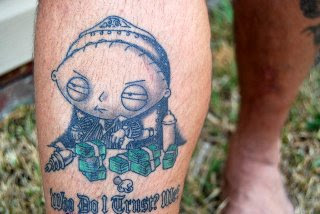 Family Guy Tattoo Design Picture Gallery - Family Guy Tattoo Ideas