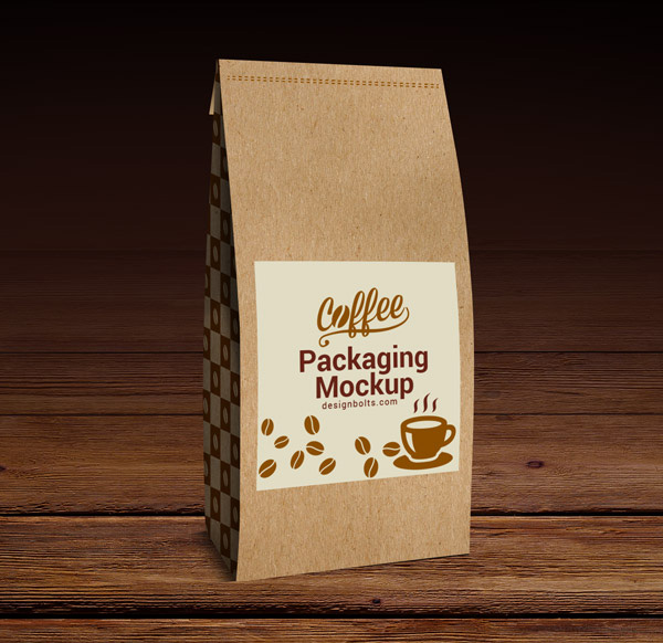 Download Packaging Mockup PSD Terbaru Gratis - High Quality Coffee Packaging Mock-up PSD